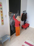 Paint a Chalkboard Wall