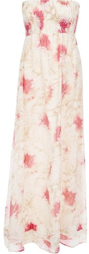 Attic And Barn floral print maxi dress