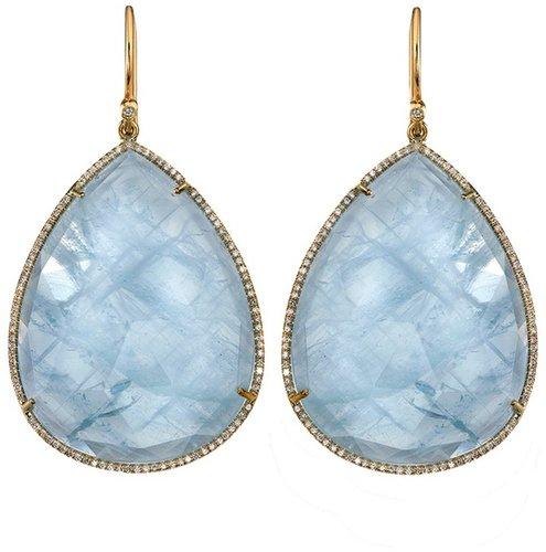 Irene Neuwirth Pear shaped earrings