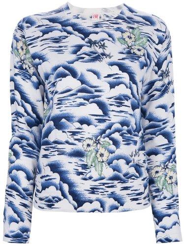 Lacoste Live Hawaiian print jumper