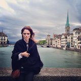 Coco Rocha shared this snap while playing tourist in Zurich — chicest vacationer ever! Source: Instagram user cocorocha