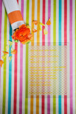 Bright Striped Table Runner