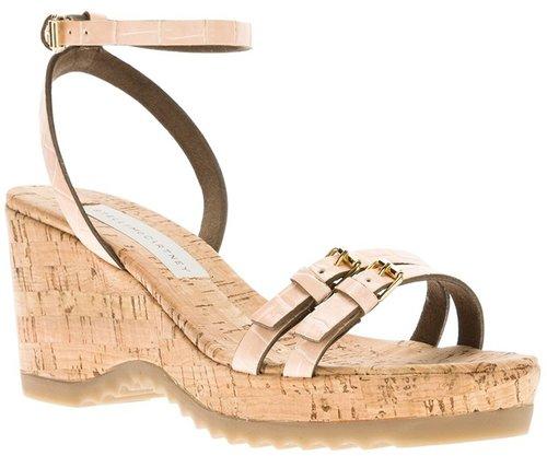 Stella Mccartney 'Linda' wedge sandal