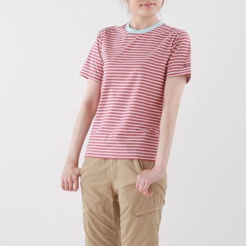 【ユニセックス】FEELFIT-E ボーダーTシャツ