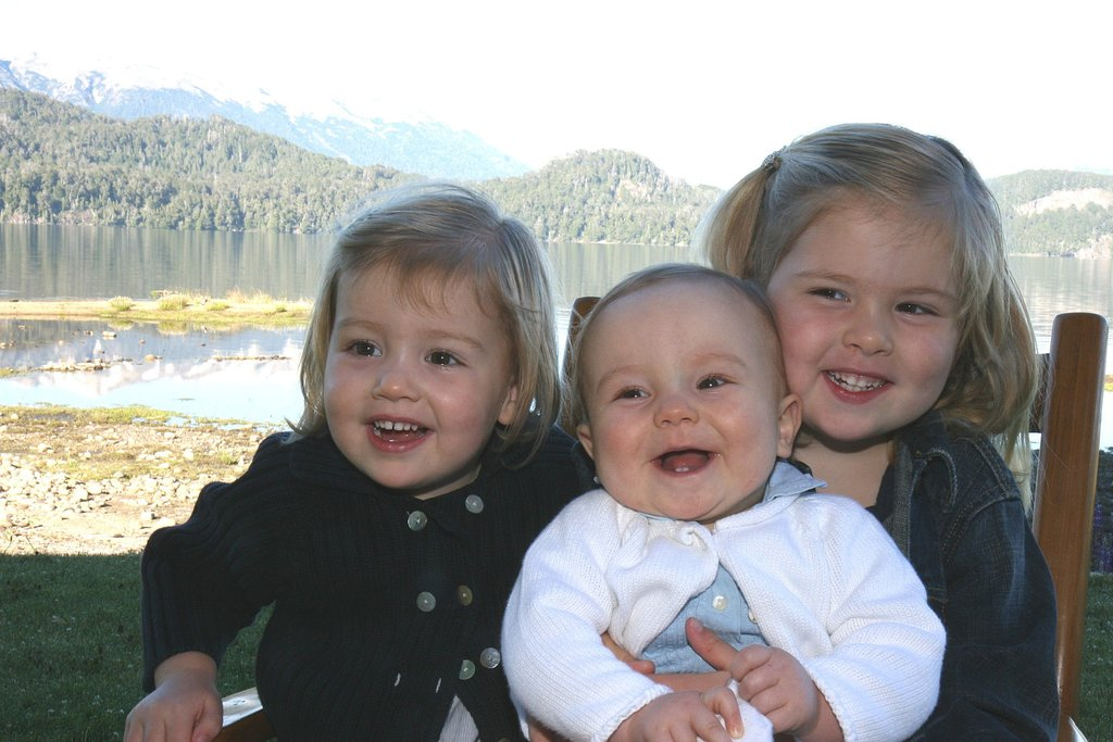 How cute were Princess Ariane, Princess Alexia, and Princess Amalia of the Netherlands while on vacation in Argentina in 2008?