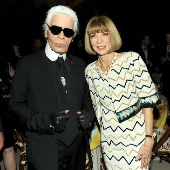 """People I'm really friendly with have faxes. Anna Wintour has one.""  — Karl Lagerfeld on keeping in touch, according to Vogue UK. Source: Billy Farrell/BFAnyc.com"