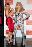Fergie was excited to get her hands on her wax figure in September 2011 in Sin City.