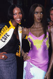 In September 1996, Naomi Campbell came face to face with her wax twin in London.