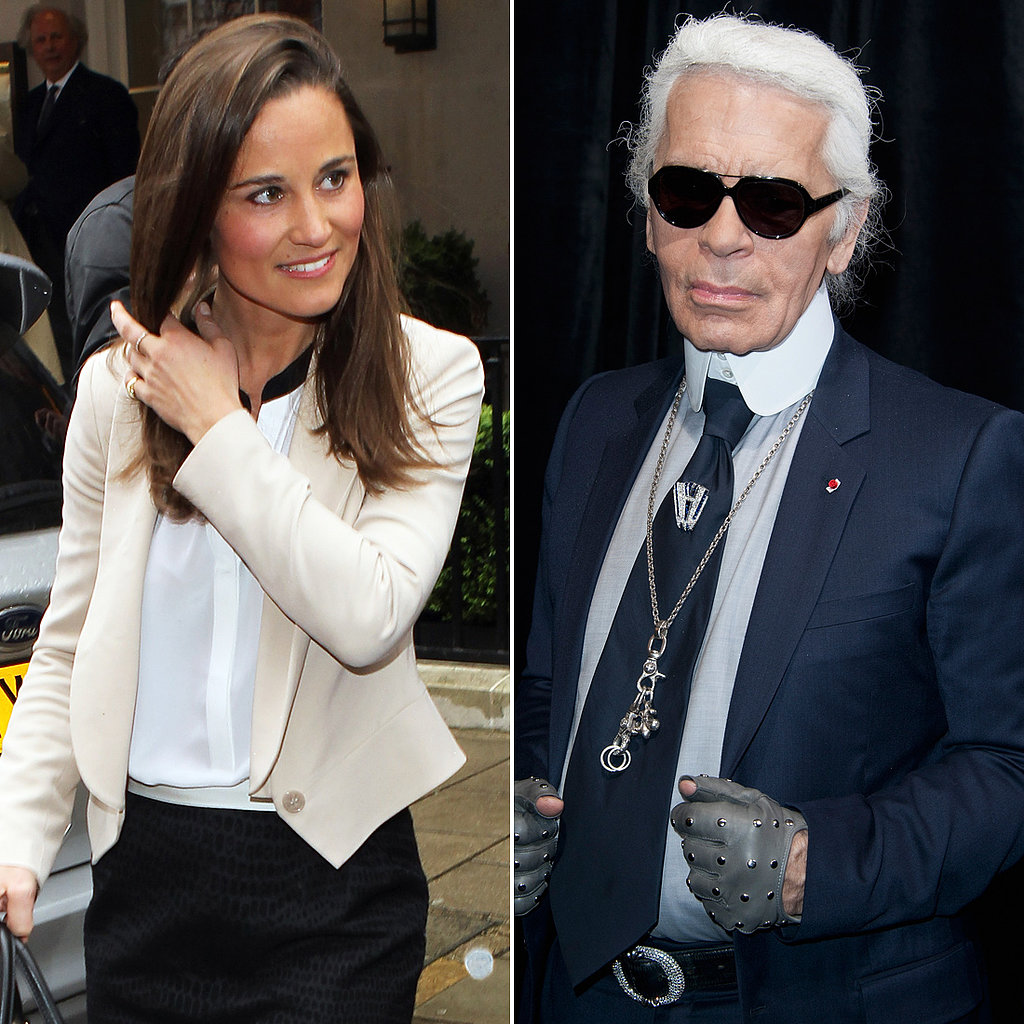 """I don't like the sister's face. She should only show her back.""  — Karl Lagerfeld on Pippa Middleton, to London paper, The Sun."