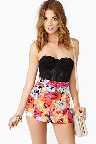 Flower Punch Shorts