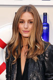 Olivia Palermo's full and glossy waves.