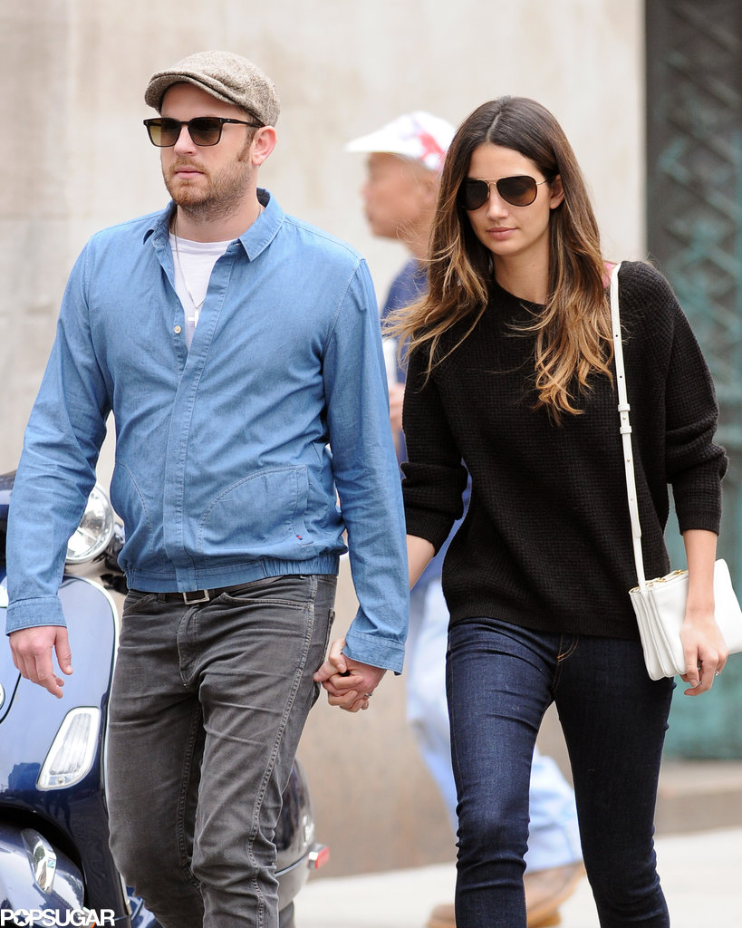 Lily Aldridge and Caleb Followill were out in NYC on Thursday.