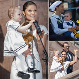 Baby Princess Estelle Helps Her Mom Celebrate Sweden's National Day
