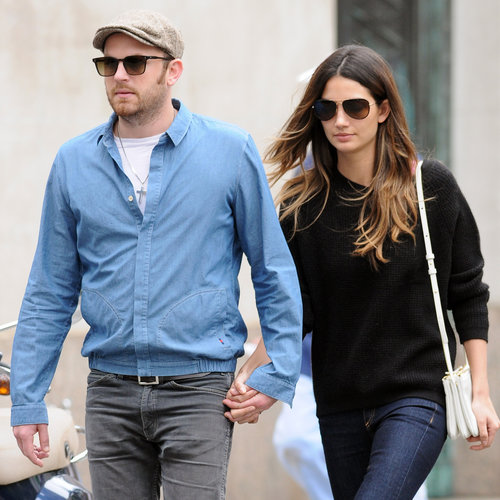 Lily Aldridge and Caleb Followill in NYC Before Tour Kickoff