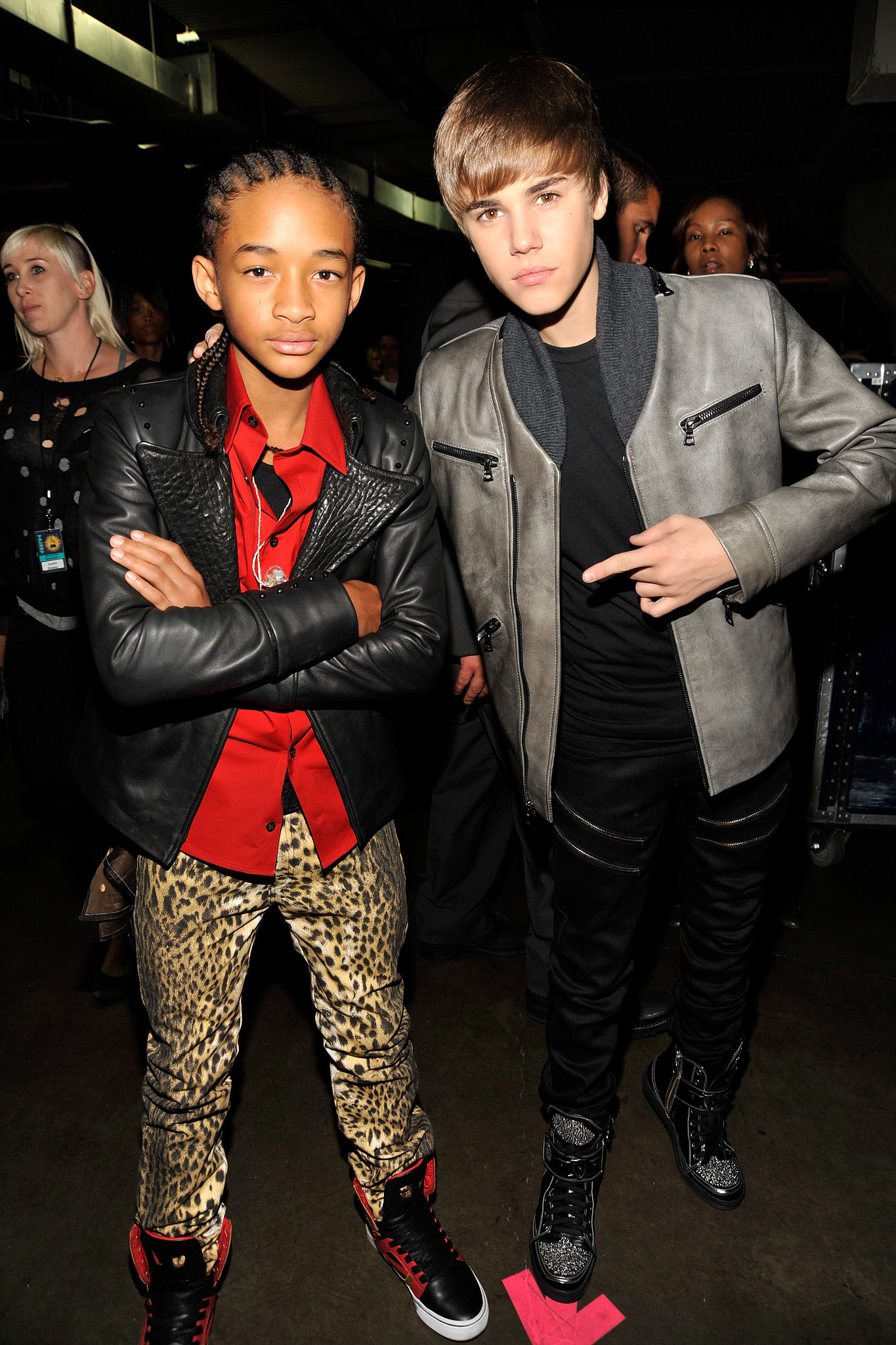 Justin Bieber and Jaden Smith are both talented youn
