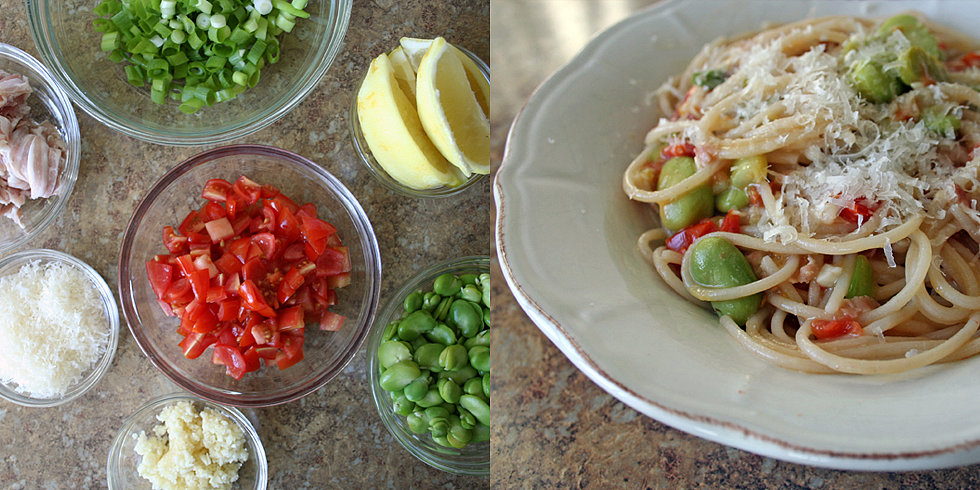 Fast Fava Bean Pasta For All Summer Long