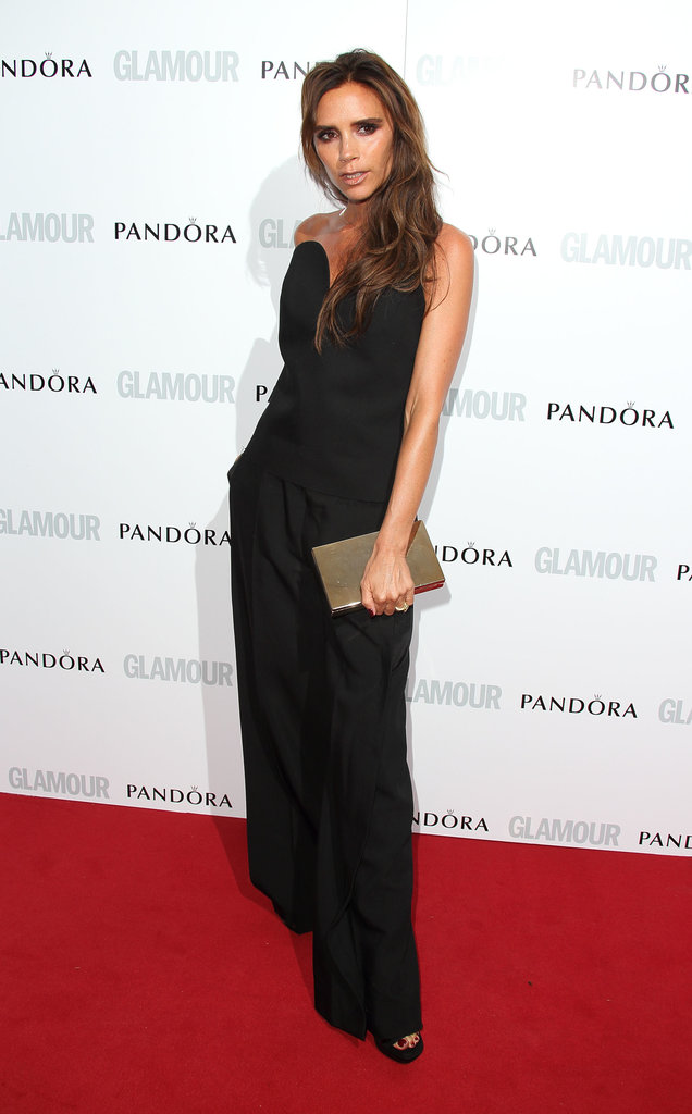 "Victoria Beckham was the epitome of ""posh"" in a Maison Martin Margiela ensemble at the Glamour Women of the Year Awards."