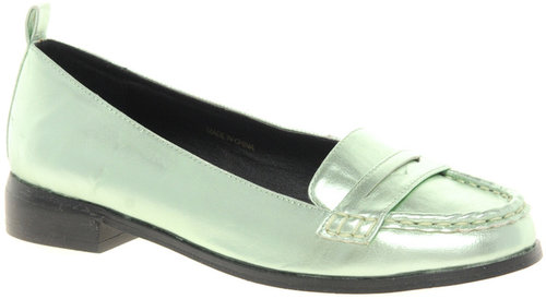 ASOS MONTH Metallic Loafers
