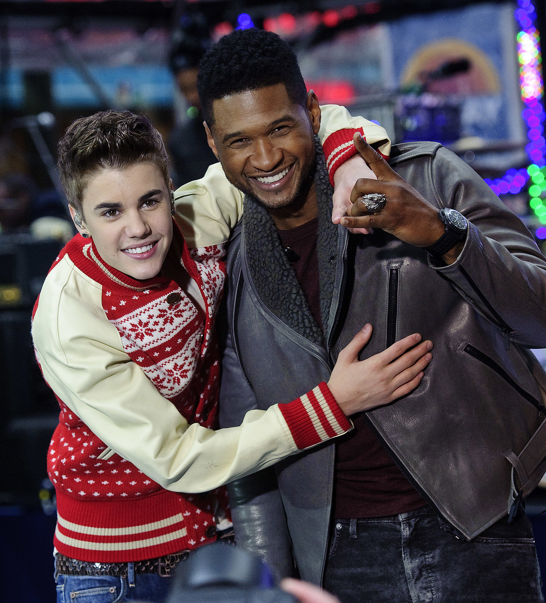 Justin Bieber used to idolize Usher, and now the singer is one of his