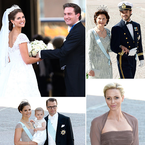 Sweden's Princess Madeleine Marries a US Banker in a Lavish Royal Wedding!
