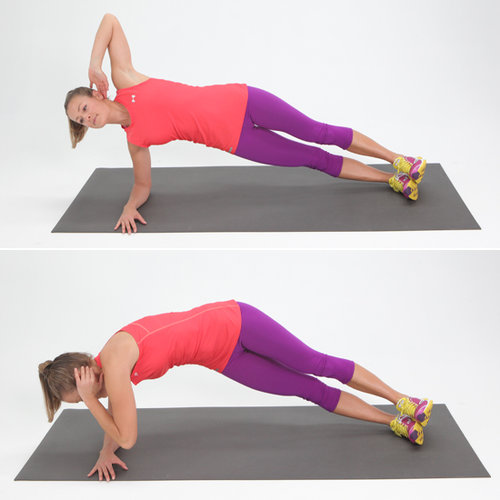 Core: Twisting Side Plank