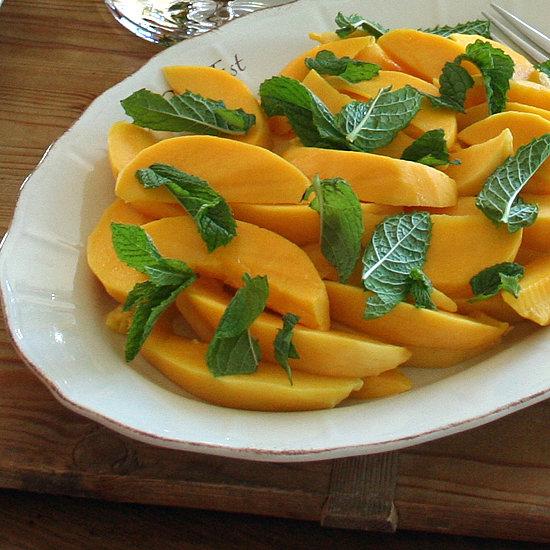Mango, Lemon, and Mint