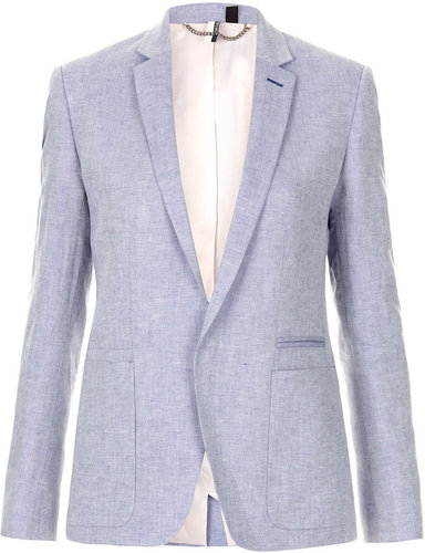Preppy Chambray Blazer