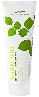 Acure Organics ShampooLemongrass + Argan Stem Cell
