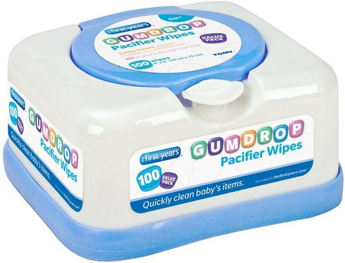 The First Years Gumdrop Pacifier Wipes - 100 ct