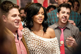 Jonah Hill, Rihanna, and Christopher Mintz-Plasse in This Is the End.