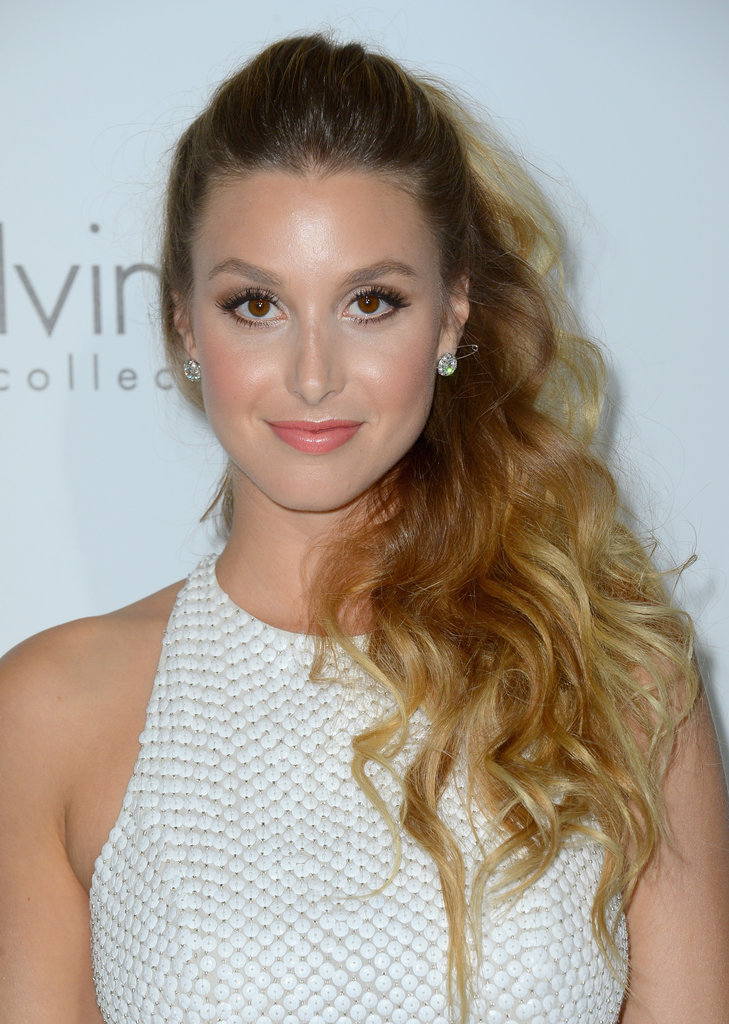 Whitney Port has the California-girl beach waves down to a science.
