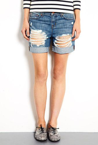 J Brand Denim Euphoria Slouchy Nash Boyfriend Shorts