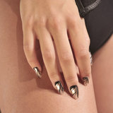 Try the Metallic Nail Trend For Summer