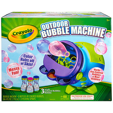 Crayola Outdoor Bubble Machine
