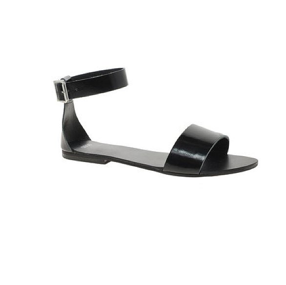 At under $40, these chic and easy ASOS Flock leather flat sandals ($37) are practically a no-brainer.