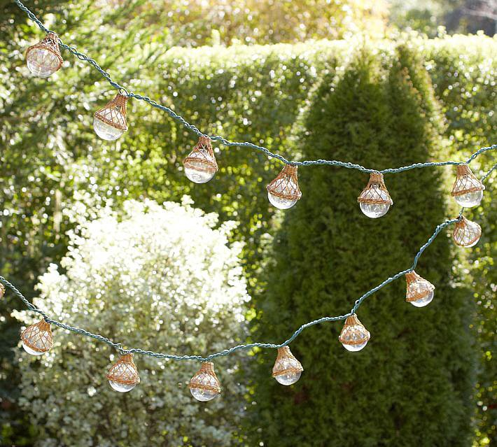Keep the party going with fun globe string lights ($30, originally $40).