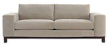 "Calypso 95"" Sofa in Heavenly Fabric"