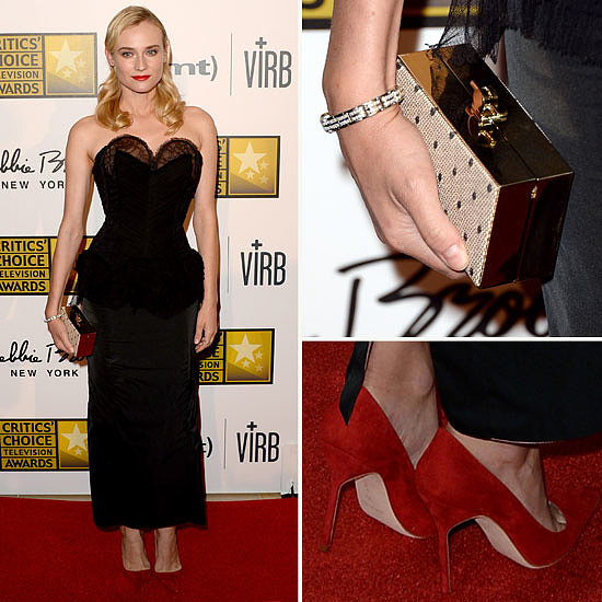 Diane Kruger Vamps it Up: See Her Sexy LBD from All Angles