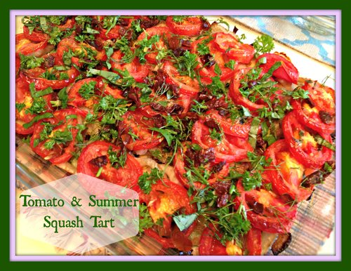 Tomato and Summer Squash Tart