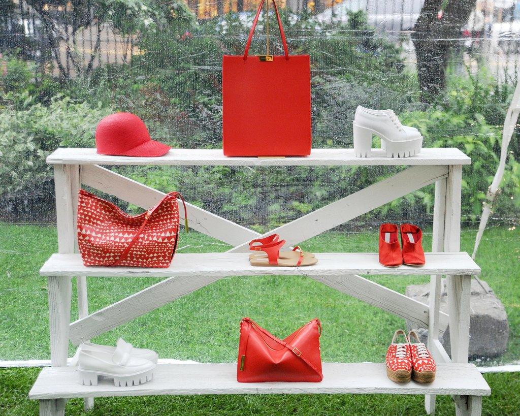 Stella McCartney's Resort 2014 accessories. Source: Billy Farrell/BFAnyc.com