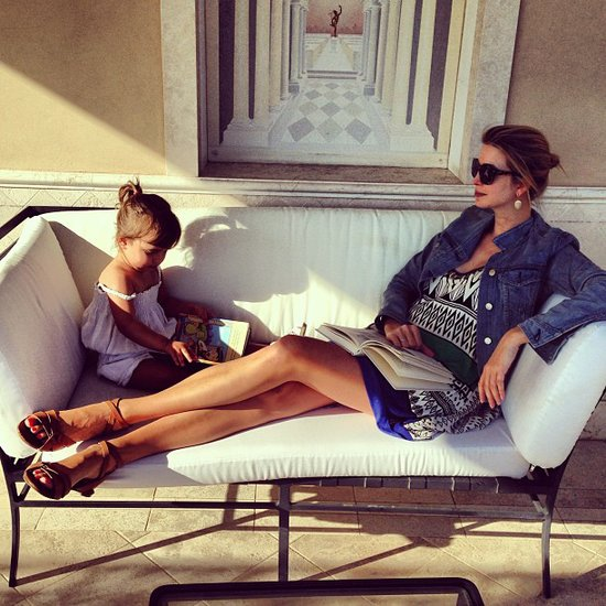 Ivanka Trump shared this sweet snap while lounging with her daughter, Arabella. Source: Instagram user ivanktarump