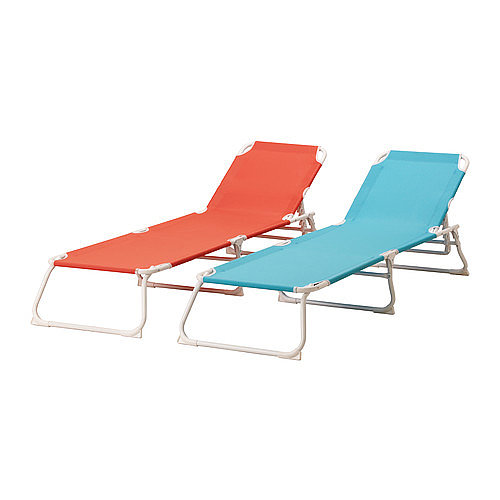 If you have a rental home or just want to keep it casual this Summer, then consider these bright chaise lounges ($30 each). They are an affordable seasonal buy that do the job without breaking the bank.