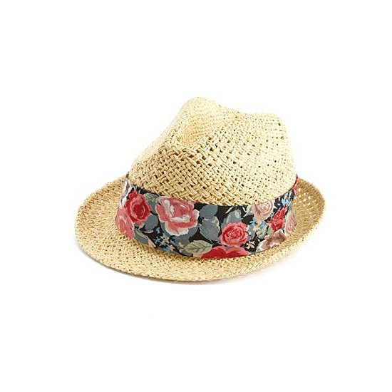 Short- and long-haired ladies alike will love this Charlotte Russe Floral Fabric Fedora ($8, originally $10). It keeps the sun out of your eyes (hello, magazine-reading marathon!) and protects your face and scalp from burning.