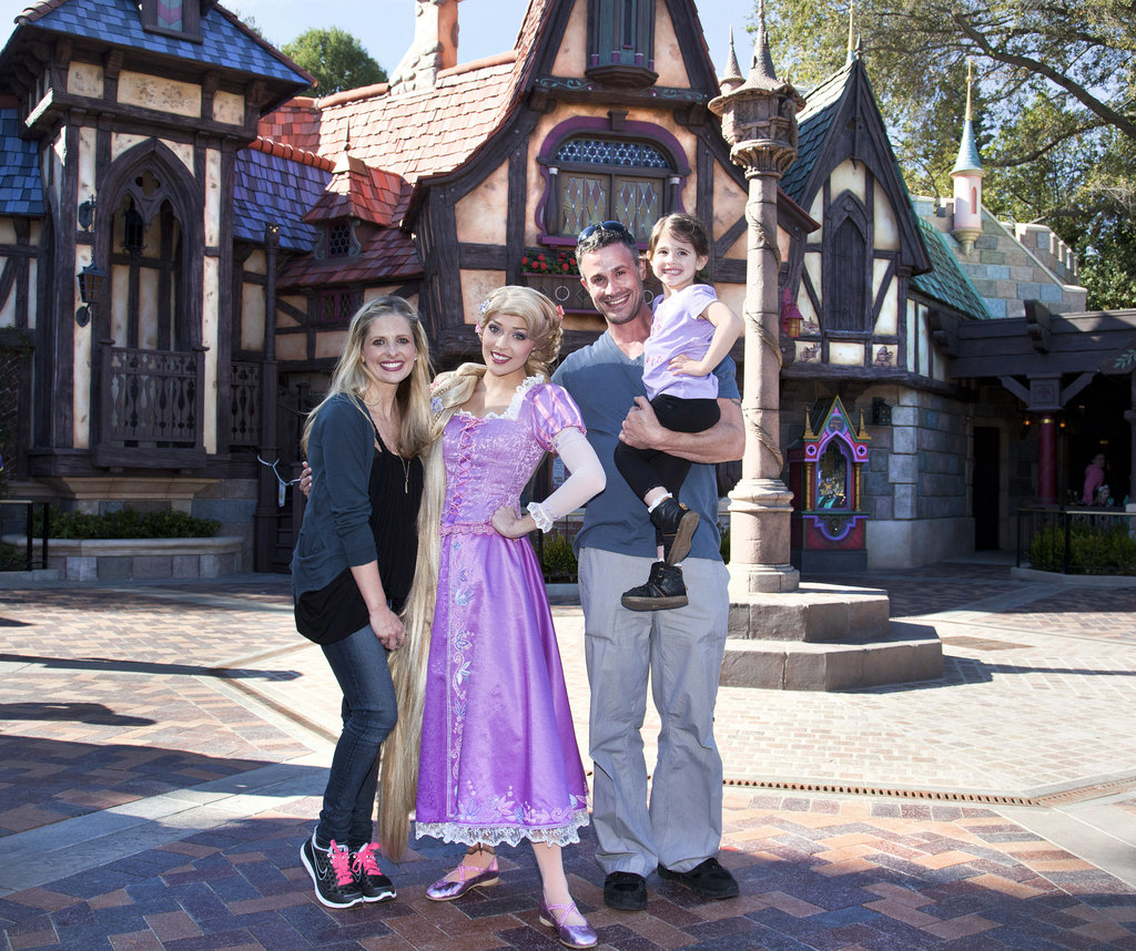 Sarah Michelle Gellar and Freddie Prinze Jr. took their daughter, Charlotte, to Disneyland in March.