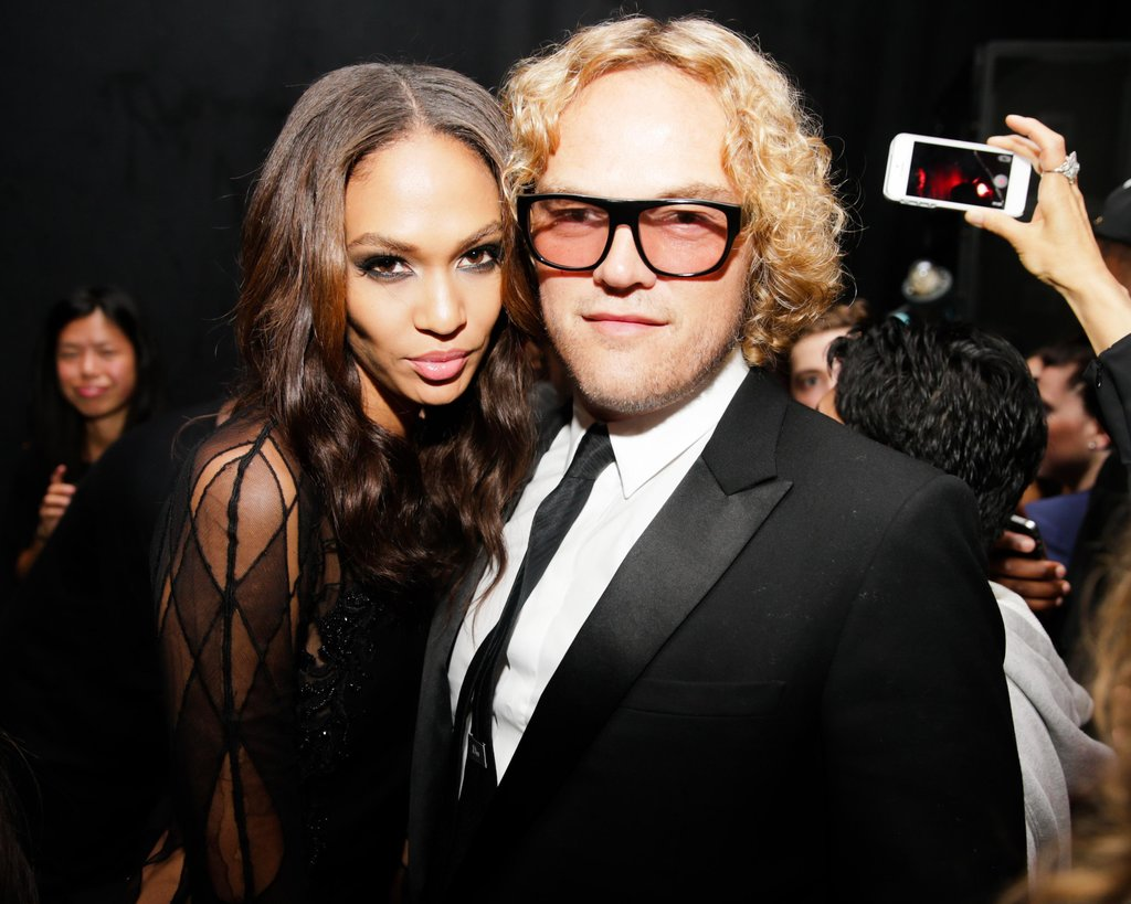 Joan Smalls and Peter Dundas at the Yeezus Listening Party in New York.  Source: David X Prutting/BFAnyc.com