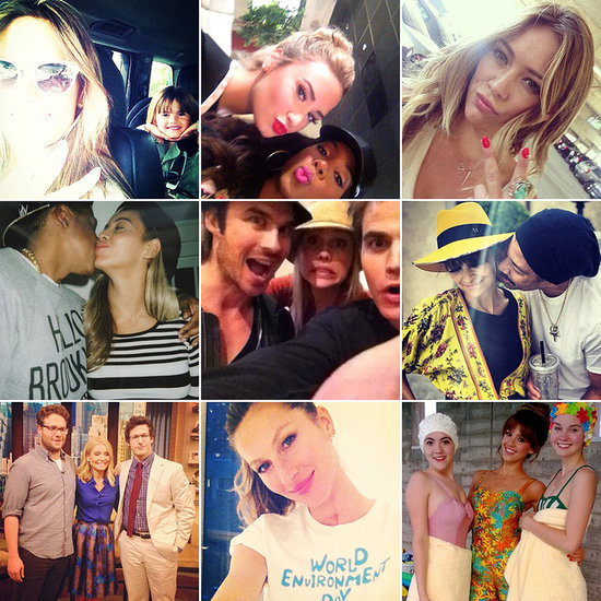 Cute Costars, Fatherly Love, and Model Mayhem Round Out the Week's Celebrity Candids