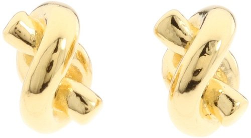Kate Spade New York - Sailor's Knot Stud Earrings (Gold) - Jewelry