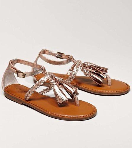 AEO Braided Tassel Sandal