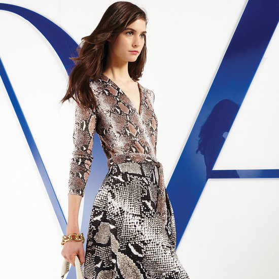Diane von Furstenberg Resort 2014: The Wrap Dress, Remixed