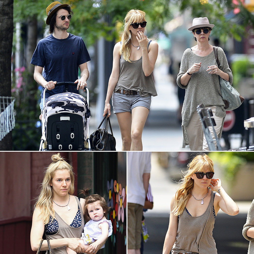 "Tom Sturridge Preps For a ""Magical"" Father's Day With Sienna, Marlowe, and His Mom"